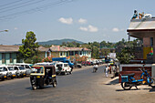 Rickshaw, transport, Port Blair, Andaman Islands, India