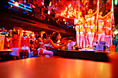 Table dance, Nightlife in Patong, Bangkok, Bar, Patpong, Thailand