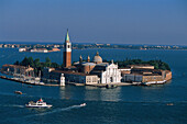 View to San Giorgio, Venice Venetien, Italy