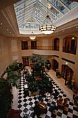 Hotelhalle, Hotel Adlon, Berlin Deutschland
