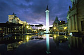 Piazza Venezia, Trajan's Column, Rome, Italy