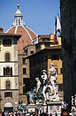 Piazza della Signorina, Florenz, Toskana Italien