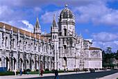 Belem, Mosteiro dos Jeronimos Lissabon, Portugal