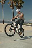 Dirtbiking-Venice Beach, Venice Beach California-USA