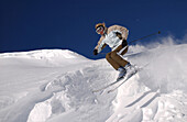 Skiing, Austria, Lech