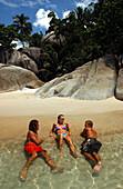Beach fun, Thailand, Koh Phangan Thailand