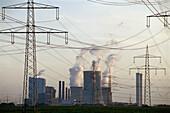 Coal-fired Power Station NiederaußernW Germany