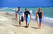 Tamarin Strand, Wellenreiten, Mauritius Afrika