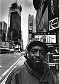 Street seller, TimesSquare, Midtown, Manhattan, New York, USA