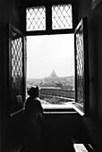 View from Castel S. Angelo, Rome Italy