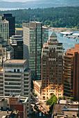 Marine Building, Burrard Street, Vancouver, British Columbia, Canada
