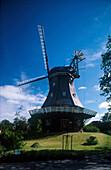 Wyk, Windmuehle Venti Amica, Insel Foehr, Schleswig-Holstein Deutschland