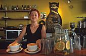 Phat Cat Café, Dixon Street, Wellington Nordinsel, Neuseeland