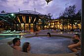 Spa in Kingfisher Bay Resort, Resort spa, Kingfisher Bay Resort, Fraser Sand Island, die größte Sandinsel, Queensland,  Australien