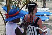 Strand von Sosua, Dominikanische Republik Karibik