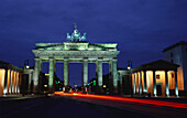 Brandenburger Gate, Pariser Platz, Berlin center, Berlin, Deutschland