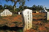 Japanese cemetery, Broome, cemetery for Japanese pearl divers, Kimberley, Western Australia, Australia