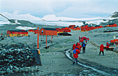 Argentinian Station, Esperanza, Hope Bay, Antarctic Peninsula, Antarctica