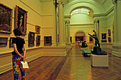 Interior of Art Gallery of NSW, Sydney, Australien, NSW, Kunstgallerie, Art Gallery of New South Wales, Victorian architecture