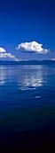 Kumulus Wolke über Kenai Fjords Nationalpark, Alaska, USA, Amerika