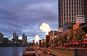 Crown Entertainment Centre, Casino, Yarra River, Melbourne, Victoria, Australia