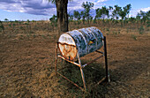 Mailbox, Briefkasten, Australien, mailbox in the outback