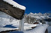 Winter landscape, Ramsau, Styria Austria, Winter