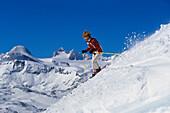 Skiiing, Ramsau, Styria Austria, Winter