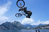 BMX, Akrobatik, Gardasee, Trentino Italien