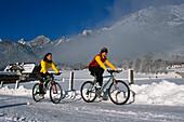 Biking, Ramsau, Styria Austria, Winter