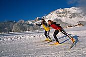 Cross-country Skiing, Ramsau, Styria Austria, Winter
