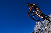 Mountainbiking, Action, Ramsau, Steiermark Austria