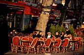 Cafe Bastille, Place de la Bastille, 11 Arrondisment, Paris Frankreich
