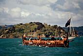 Waka, Kriegskanu, Waitangi Day, Waitangi, Nordinsel Neuseeland
