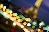 Eiffel Tower blurred, Paris, France