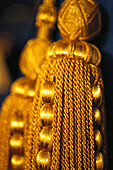 Gold string, Hotel Burj Al Arab, Dubai, V.A.E., United Arab Emirates, Middle East, Asia