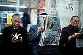 passengers, urban railway network,Tokyo, Japan