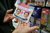 Smile trainer, Tokyu Hands department store Shinjuku, Tokyo, Japan