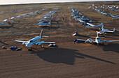 Runway at racing days, Birdsville Races, Queensland, Australia