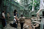 Ta Prohm, Angkor, near Siem Reap Cambodia