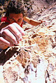 Freeclimbing, Grip technique Sports