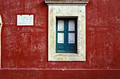 Typical italian window, Lipari, Italy