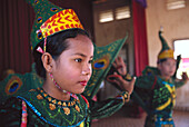Apsara-performance, Orphanage, Kompong Thom Cambodia, Asia