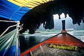 Boat excursion, Ao Phang Nga, Andaman Sea, Thailand