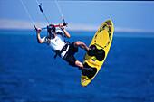Kitesurfing, Sprung, El Naba, Rotes Meer Ägypten