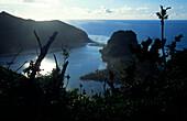 Crater Lake on Tikopia, Temotu Province, Solomon Islands, South Pacific