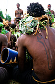 Back Tattoo, Ceremony, Rabaul, East New Britain Papua New Guinea, Melanesia