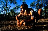 Aborigine, Wallabie Dance, Townsville, Queensland Australia