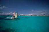 Windsurfen, Aruba, Karibik Niederl. Antillen