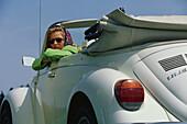 Auto Cabrio, VW-Kaefer